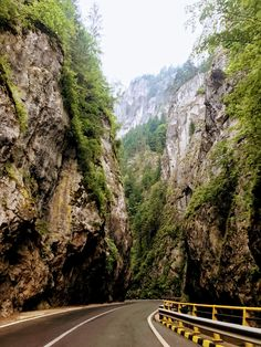 Bicazului Gorges in Harghita and Neamt County conecting Transylvania to Moldova. The route from Bucharest and back in 3 days is available on Toura. Visit Romania, Bucharest, Best Location, Wonders Of The World, Travel Photos, Places To See, Opera, Beautiful Pictures, Around The Worlds