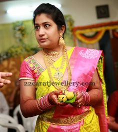 Another Pretty Bride in Traditional Jewellery | Jewellery Designs