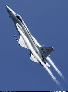 JF-17  Thunder. Pakistan's first home-made fighter plane and one of the coolest aircraft around!