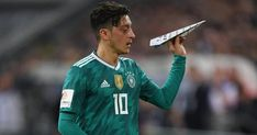 Joachim Low says Mesut Ozil and Ilkay Gundogan should expect to become booed through the German supporters in the World Cup. Milan, Chelsea, Dfb Team, World Cup, Football, Baseball Cards, Sports, Twitter, Arsenal