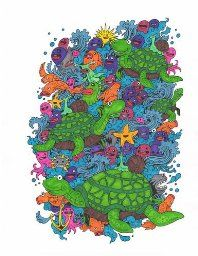Doodle Invasion Coloring Book