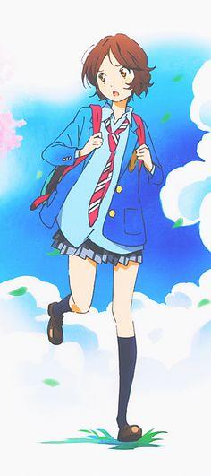 Shigatsu Wa Kimi No Uso ~ Your Lie In April - Tsubaki In Summer