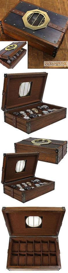 Watch 168164: Steampunk Macguffin 12-Pc Watch Box -> BUY IT NOW ONLY: $139 on eBay!