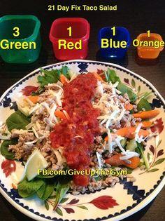 21 Day Fix - Taco Salad