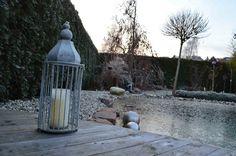 Ein Holzpool Ist Auch Im Winter Nutzbar, Z.B. In Verbindung Mit Einer Sauna.