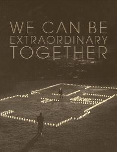 Podemos ser extraordinarios juntos