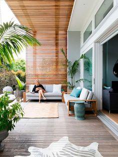Terrazas para el verano: Amplio porche