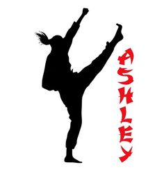 Martial Arts Decor for Girls. Your favorite athlete will be amazed to find her room transformed with one of these personalized karate decals! This decal includes the player silhouette and your child's name. This vinyl wall decal can be altered to any size, but I do offer four different standard sizes. You may see the available sizes by using the drop down menu to the right of this description. No matter what size you choose, each of these pieces kids room decor is made using only the…