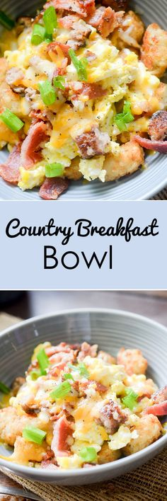 Country Breakfast Bowls - Recipe Diaries