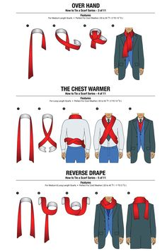 erensbae:nevver:How To Tie A Scarf Chartnailed it
