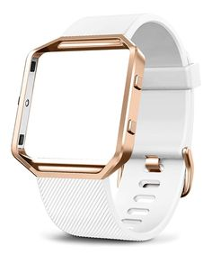 White Small Buckle Replacement Wristband for Fitbit Blaze