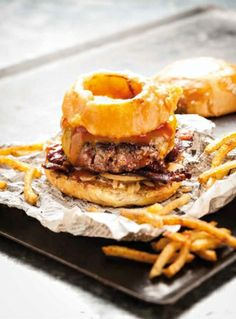 """Burger from Paris' famous food truck, le Camion qui fume, """"the smoking truck."""" www.girlsguidetoparis.com"""