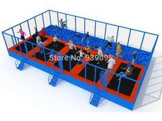 Find More Playground Information about with Sponge pit trampoline parks for dulduts,jumping trampoline bed with safety nets,trampoline playgrounds,High Quality bed ring,China trampoline safety Suppliers, Cheap trampoline fitness from sugar's store from YLW INT'L AMUSEMENT EQUIPMENT CO.,LTD on Aliexpress.com