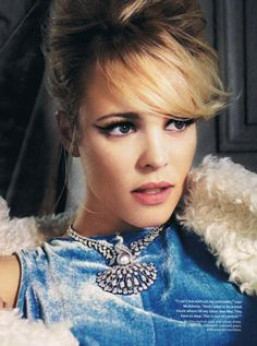 Rachel McAdams is my role model, Ah I love her, she is wonderful. I hope someday to act with her.