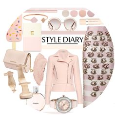 Style Diary by kusja on Polyvore featuring мода, Balenciaga, Emilia Wickstead, Giuseppe Zanotti, Givenchy, Ted Baker, Michael Kors, Tory Burch, Chloé and Chanel