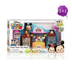 Buy Disney Tsum Tsum Playset at Argos.co.uk - Your Online Shop for Teddy bears…