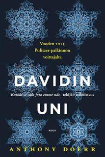 Davidin uni - Anthony Doerr - E-kirja Anthony Doerr, Uni, Artwork, Movie Posters, Books, Livros, Work Of Art, Libros, Auguste Rodin Artwork