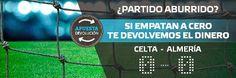 suertia bono 100 euros devolucion Celta vs Almería 19 diciembre