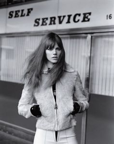Freja Beha Erichsen by Alasdair McLellan for Vogue UK January 2015