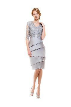 1140074 (Vestido de Madrina). Diseñador: Sonia Peña. ...