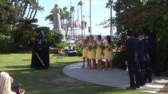 Darth Vader Crashes Wedding Ceremony of Dave & Nevada