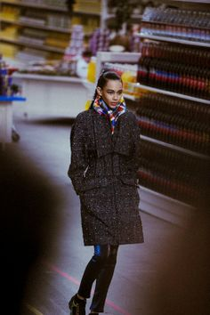 Binx Walton (Next) at Chanel AW14