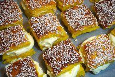 Saffransbullar i långpanna med vitchokladfluff - Victorias provkök Cookie Desserts, No Bake Desserts, Easy Desserts, Swedish Recipes, Sweet Recipes, Baking Recipes, Cake Recipes, Grandma Cookies, Delicious Deserts