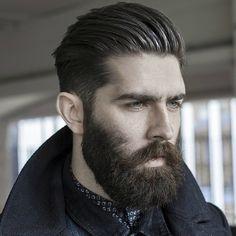 Beards-and-Hairstyles-Winter-Beards. #MensFashion