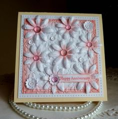 Stampin up Happy Anniversary Handstamped card choice by llenusik, $8.89