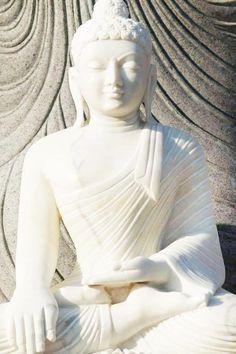 themagicfarawayttree: Katra Craft: white buddha