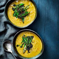 Try our vegan red lentil dahl recipe with broccoli tarka. This quick and easy red lentil soup makes for an easy dahl recipe. Low calorie dahl with broccoli Best Lentil Recipes, Vegan Dinner Recipes, Vegan Dinners, Vegan Recipes Easy, Asian Recipes, Vegetarian Recipes, Vegan Ideas, Vegetarian Cooking, Veggie Recipes