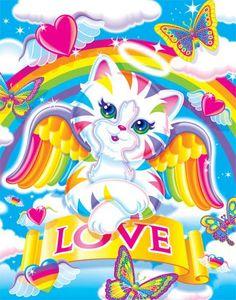 RubyBows: Inspiring Art: Lisa Frank part 2 Rainbow Art, Rainbow Unicorn, Rainbow Colors, Lisa Frank Unicorn, Lisa Frank Stickers, 90s Kids, Cat Art, Hello Kitty, Whimsical