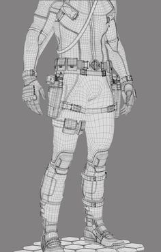 Back in 2009 I had the chance to team up with the amazing Joshua James Shaw for the look and dev of Deadpool for a test footage that Blur pitched to Fox . Joshua did the concept/suit design, i did the modeling and texuring .The rest is history