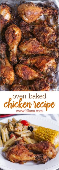 Oven Baked Chicken -