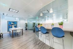 Workspace Design, Cool Office, Offices, Dining Table, Warm, Cool Stuff, Inspiration, Furniture, Home Decor