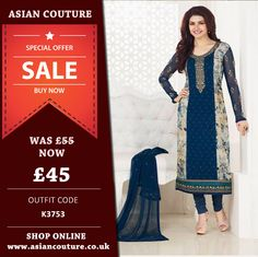 ASIAN COUTURE ANNUAL SALE OFFER !!!!  BUY THIS KASEESH DESIGNER OUTFIT Only £45.  Limited offer!!!   PLACE YOUR ORDER ONLINE FOR QUICK DELIVERY >>> https://www.asiancouture.co.uk/sale-discounts-on-asian-indian-clothing-uk    #ASIANCOUTURE #ASIANCOUTUREONLINE #SALWARKAMEEZ #INDIAN #PAKISTANI #INDIANWEAR #WEDDING #SALWARSUITS #BRIDALWEAR #PARTYWEAR #ASIANUK #MANCHESTER #LONDON #DESIGNERSUITS #ANARKALI #LEHENGA #GOWN #EDINBURGH #DEALOFTHEDAY