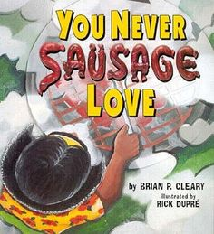 You never sausage love as at this family gathering. It's a backyard party, jamboree, and smorgasbord of fun. For all young readers who think their parents are corny, this book is a sherbet.  A girl tells her family's story in rhyme with humorous detail based on puns using the names of food.