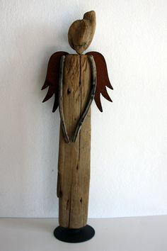 driftwood sculpture Rusty made from natural driftwood by Yalos, $200.00