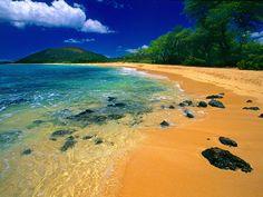 Big Beach, Maui, Hawaii.....we spent a great day here!