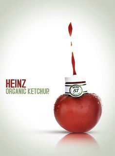 Creative Marketing | Heinz Ketchup Ad - Organic Ketchup #ketchup #heinz #creativemarketing