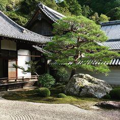 Remembering Kyoto Zen. #kyoto #zengarden #japanvacation #regram