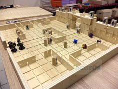 Confraria de Arton: Engenhoso tabuleiro versátil e moldável para RPG