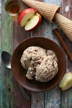 apple butter rum pecan ice cream