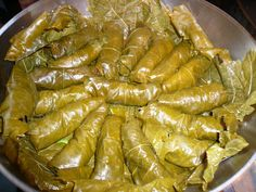 Greek stuffed grape leaves, commonly called domas, are a fresh and healthy finger food that is also popular in Turkey, the Middle East and the Balkans.