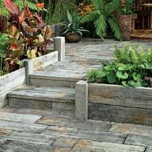 View Timberstone Posts and Sleepers for Planters / Raised Beds lifestyle image 1