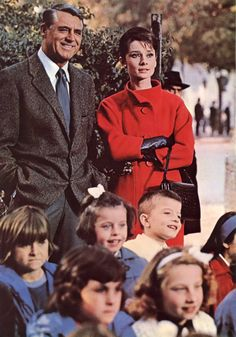 """""""Charade""""  with Cary Grant & Audrey Hepburn"""