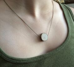 wood diffuser necklace
