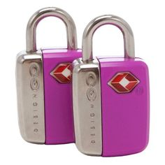 Go Design Mini Glo Travel Sentry TSA Accepted 2 PiceSet Luggage Locks Orange >>> Learn more by visiting the image link.