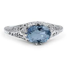 14K White Gold The Daelan Ring