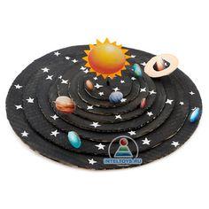 Солнечная система своими руками: мастер-кла... - #мастеркла #руками #своими #система #Солнечная